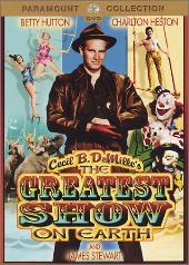 THE GREATEST SHOW ON EARTH DVD COVER