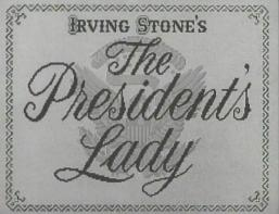 THE PRESIDENT'S LADY TITLE