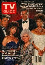 THE COLBYS-TV GUIDE