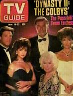 THE COLBYS-TV GUIDE 1985