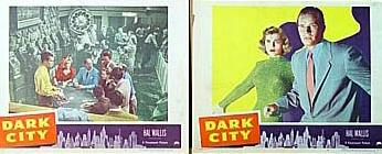 DARK CITY LOBBY CARDS