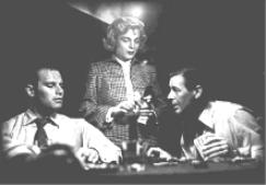 CHUCK, LIZABETH SCOTT & DON DeFORE