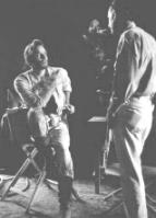 Chuck with Director: Sam Peckinpah