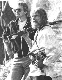 CHUCK & FRAY DURING: 'MOUNTAIN MEN'('80)