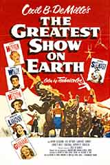 GREATEST SHOW ON EARTH POSTER('52)