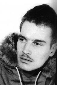 CHUCK AS A SOLIDER IN THE ALEUTIAN ISLANDS('44)