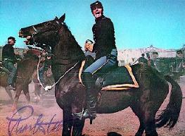 CHUCK AS MAJOR DUNDEE(AUTOGRAPHED)