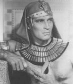 CHARLTON HESTON AS PRINCE  MOSES
