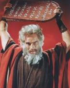 CHUCK AS MOSES