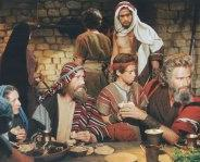 MOSES & FAMILY AT THE FIRST PASSOVER