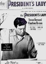 SHEET MUSIC FROM THE PRESIDENTS LADY('53)