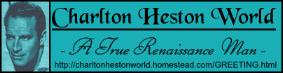 CHARLTON HESTON WORLD LOGO