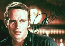 CHARLTON HESTON AS MAJOR DUNDEE-AUTOGRAPHED